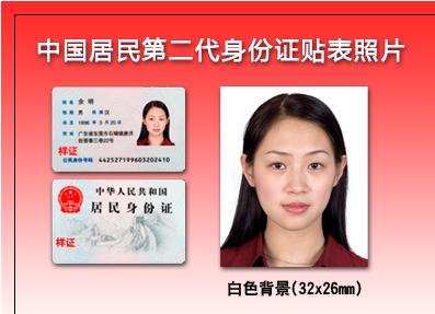 中国机动车驾驶证照片